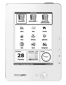 Go online using PocketBook Pro 602. It will connect to the Web anywhere Wi-Fi is available. Its full-scale browser will display all Internet pages suitable for E-Ink screens.